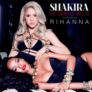 Shakira featuring Rihanna — Can't Remember to Forget You (studio acapella)