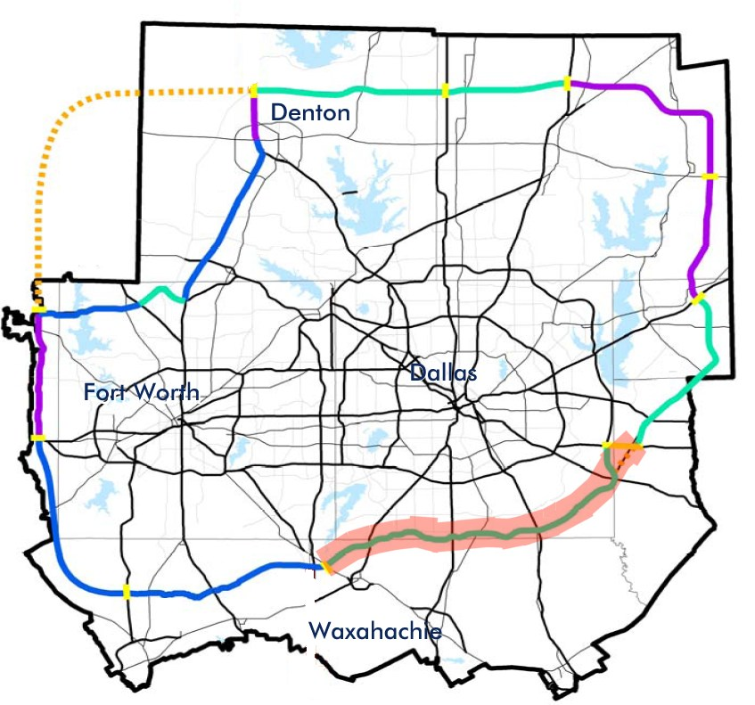 dallas toll roads map Texas State Highway Loop 9 Wikipedia dallas toll roads map