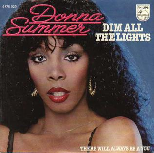 Dim All the Lights 1979 single by Donna Summer