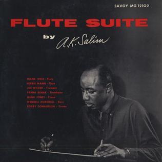 <i>Flute Suite</i> album by A. K. Salim