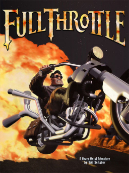 The cover artwork for Full Throttle