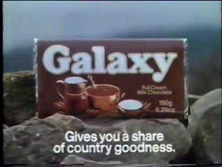 Galaxy (chocolate bar) - Wikipedia
