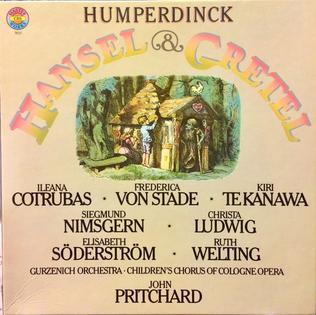 <i>Hänsel und Gretel</i> (John Pritchard recording) 1979 studio album by John Pritchard