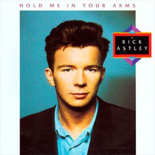 <i>Hold Me in Your Arms</i> (album) 1988 studio album by Rick Astley