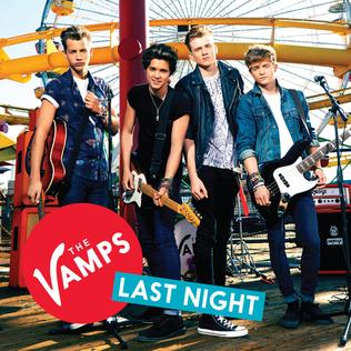 The Vamps — Last Night (studio acapella)