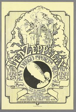 Led Zeppelin North American Tour 1972 Wikipedia