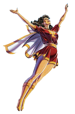 Mary Marvel Wikipedia With the release of the first photo of brie larson in costume in the upcoming captain marvel film (it was a candid set photo, so we don't know for sure what the context of the costume will be), it made us think about the many different looks (and. mary marvel wikipedia