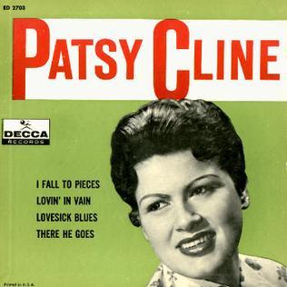 <i>Patsy Cline</i> (1961 EP) 1961 EP by Patsy Cline