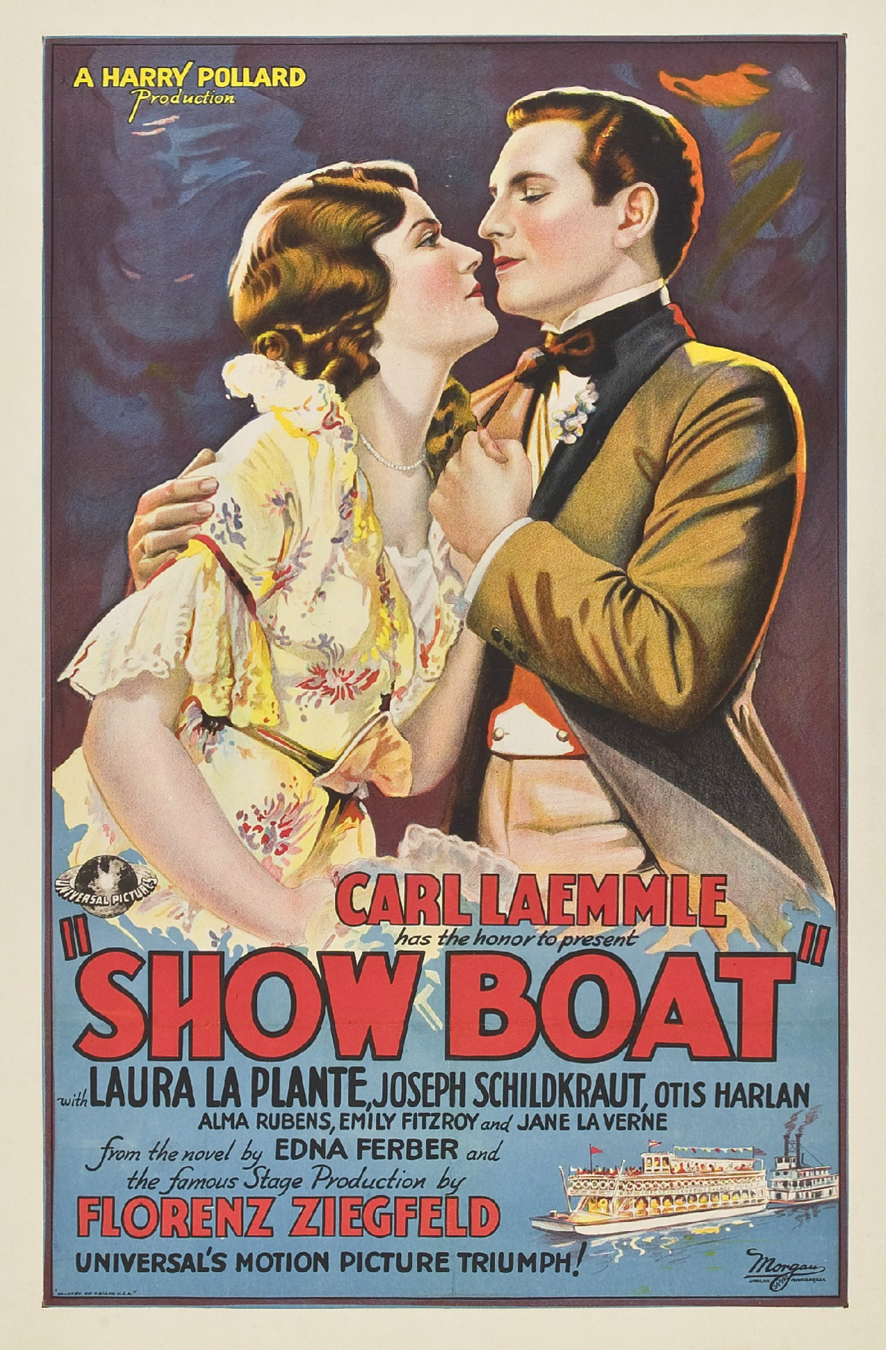 Download Show Boat FRENCH Poster
