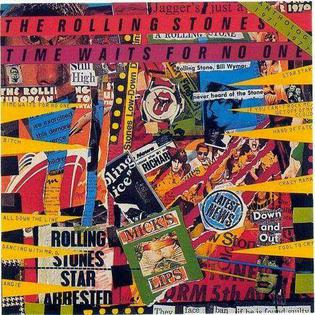 <i>Time Waits for No One: Anthology 1971–1977</i> 1979 compilation album by The Rolling Stones