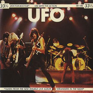 Doctor Doctor (UFO song) 1979 single by UFO