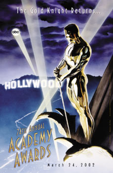 Ross' poster for the 74th Academy Awards.