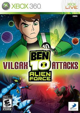 Picture of a game: Ben 10 Alien Force: Vilgax Attacks
