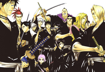 List Of Soul Reapers In Bleach Wikipedia