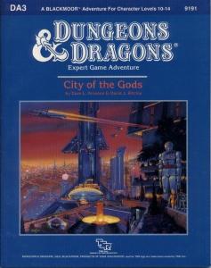 Cover of DA3 City of the Gods