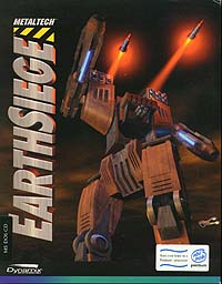 Earthsiege Box Cover