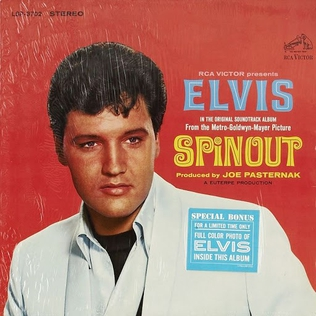 <i>Spinout</i> (soundtrack) 1966 soundtrack album by Elvis Presley
