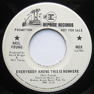 Everybody Knows This Is Nowhere (song) Neil Young song