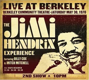 <i>Live at Berkeley</i> live album by Jimi Hendrix