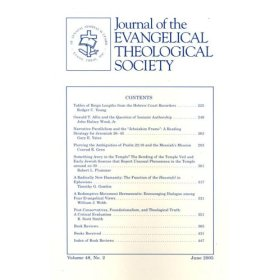 Journal of the Evangelical Theological Society