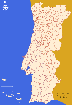 Location in Portugal