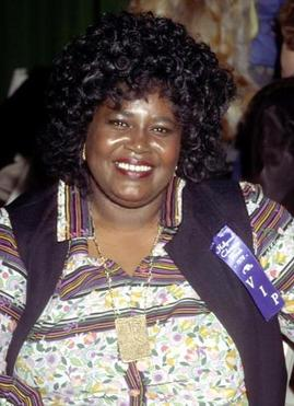 Mabel King (pictured ca. 1990) played Evillene, the Wicked Witch of the West in the original 1975 production and the 1978 film version.