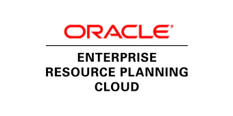Oracle Enterprise Resource Planning Cloud - Wikipedia