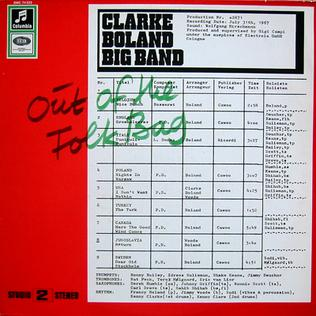 <i>Out of the Folk Bag</i> album by Kenny Clarke/Francy Boland Big Band