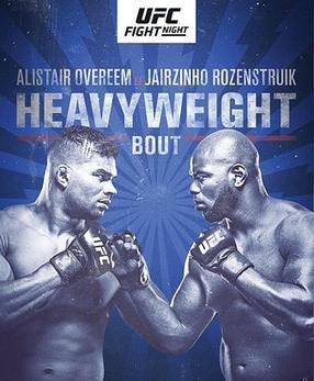 Ufc On Espn Overeem Vs Rozenstruik Wikipedia