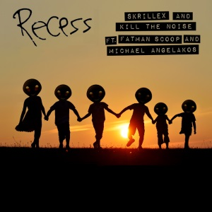 Skrillex and Kill the Noise featuring Fatman Scoop — Recess (studio acapella)