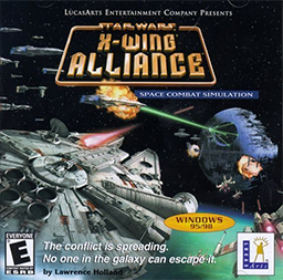 X-Wing Alliance official cover