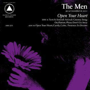 <i>Open Your Heart</i> (album) 2012 studio album by The Men