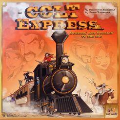 <i>Colt Express</i> board game