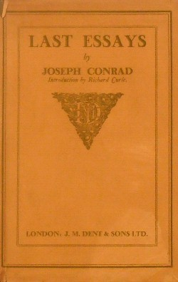 the life of joseph conrad essay In heart of darkness, joseph conrad relies heavily on the differences between appearances and reality to develop conflict in the story from the appearance of the ivory trade and the continent of africa, to the image of kurtz himself, conrad clearly shows us that appearances can be deceiving.