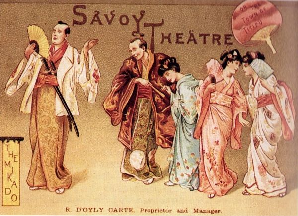 Image result for mikado london 1897