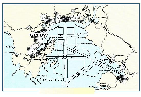 Nakhodka Bay Wikipedia - Nakhodka map