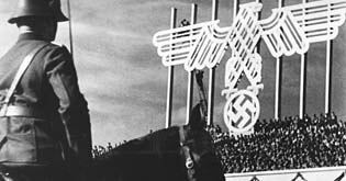 <i>Tag der Freiheit: Unsere Wehrmacht</i> 1935 Nazi propaganda documentary film by Leni Riefenstahl about the 7th Nuremberg Rally in 1935, focusing on the German army