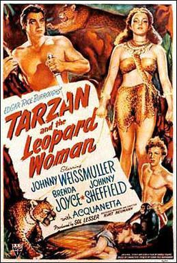 Tarzan and the Leopard Woman - Wikipedia