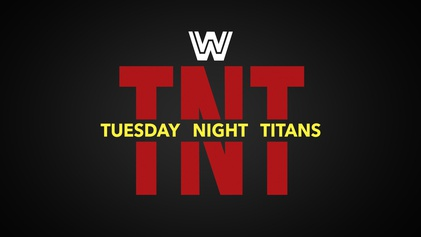 Tuesday Night Titans Logo used by WWE Network