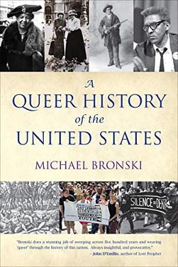 <i>A Queer History of the United States</i> book by Michael Bronski