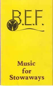 Cassette covers of note BEFMusicForStowaways