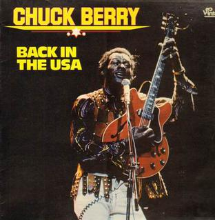 Back in the U.S.A. original song written and composed by Chuck Berry