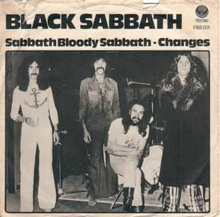 Sabbath Bloody Sabbath (song) single