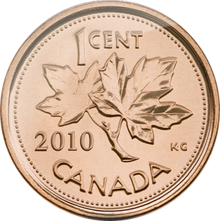 what year were canadian pennies made of copper