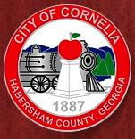 Official seal of Cornelia, Georgia