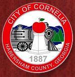 Offizielles Siegel von Cornelia, Georgia