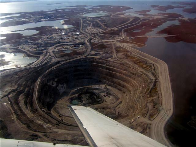 filediavik diamond mine open pitjpg wikipedia