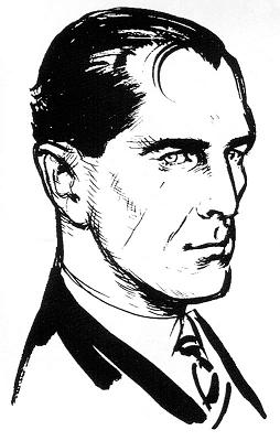 Ian Fleming's commissioned impression of James...