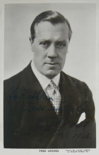 Fred Groves (actor) British actor