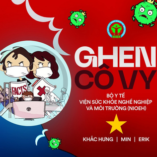 Ghen Cô Vy 2020 song about the COVID-19 pandemic